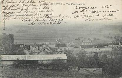 ".CPA  FRANCE 77 ""Courtry, Vue panoramique"""