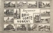 "77 Seine Et Marne .CPA  FRANCE 77 ""Brie Comte Robert, Vues"""