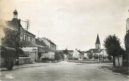 """.CPSM   FRANCE 77 """"Bussy St Georges, Place de la Mairie"""""""