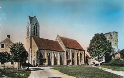 """.CPSM   FRANCE 77 """"Blandy les Tours, l'église"""""""