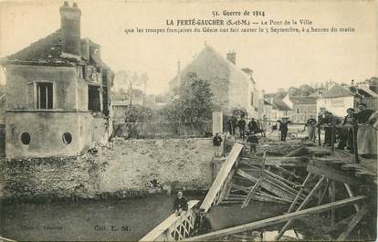 "CPA FRANCE 77  ""La Ferté Gaucher"""