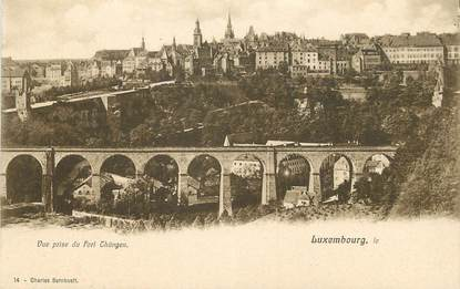"CPA LUXEMBOURG ""vue prise du Fort Thüngen"""