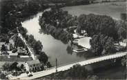 """77 Seine Et Marne .CPSM   FRANCE 77 """"Esbly, Le pont et la plage"""""""