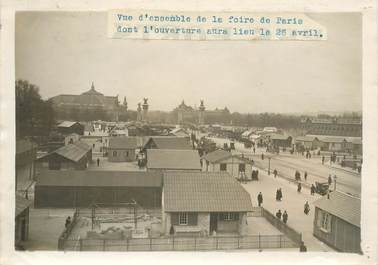 "PHOTO ORIGINALE / FRANCE 75 ""Paris, vue d'ensemble de la foire de Paris"""