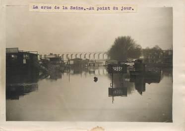 "PHOTO ORIGINALE / FRANCE 75 ""Paris, la crue de la Seine"""