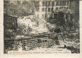 """75 Pari PHOTO ORIGINALE / FRANCE 75 """"Paris, le dernier raid des Gothas, rue des Dunes"""""""