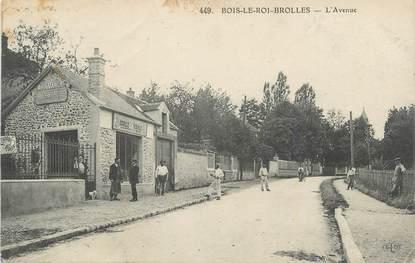 """.CPA FRANCE 77 """"Bois le Roi - Brolles, L'avenue"""""""