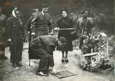 """PHOTO ORIGINALE / FRANCE 75 """"Paris, la Butte du Mont Valérien1948"""""""