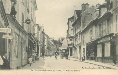 """CPA FRANCE 77  """"La Ferté sous Jouarre, Rue du Limon"""""""