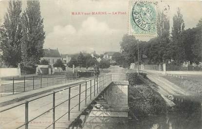 ".CPA FRANCE 77 ""Mary sur Marne, Le pont"""