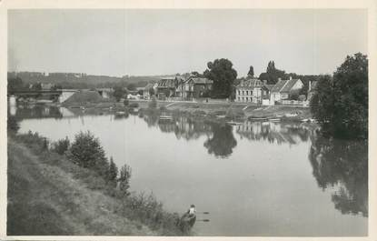 """.CPSM FRANCE 77 """"Mary sur Marne, Le Pont du chemin de fer"""""""
