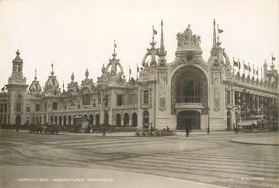 """PHOTO ORIGINALE / FRANCE 75 """"Paris, Exposition de 1900, manufactures nationales"""""""