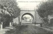 """77 Seine Et Marne .CPA  FRANCE 77 """"Tournan, Le pont du chemin de fer"""""""