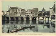 """77 Seine Et Marne .CPA  FRANCE 77 """"Meaux, Le pont du marché"""""""