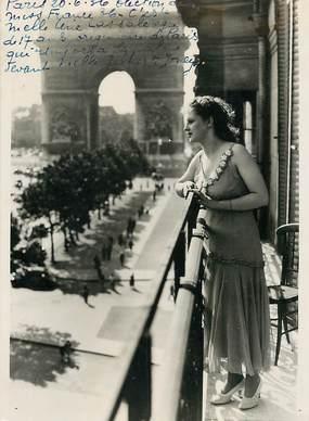 """PHOTO ORIGINALE / FRANCE 75 """"Paris, Election de miss France 1936"""""""