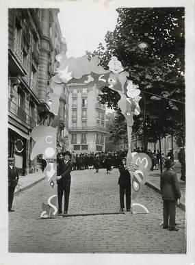 """PHOTO ORIGINALE / FRANCE 75 """"Paris, Montmartre, Exposition des Arts Décors Hatifs"""" / HUMOUR"""
