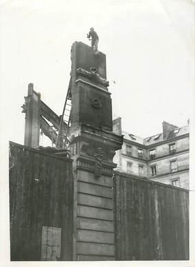 """PHOTO ORIGINALE / FRANCE 75 """"Paris, 1941, les Nouvelles galeries détruites par un incendie"""""""