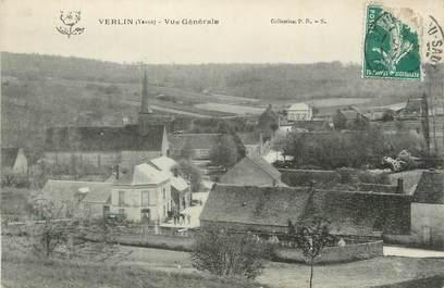 """.CPA  FRANCE 89 """"Verlin, Vue générale"""""""