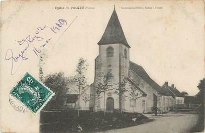 """.CPA  FRANCE 89 """"Volgré, L'église """""""