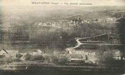 """.CPA  FRANCE 89 """"Molay Arton, Vue générale panoramique"""""""