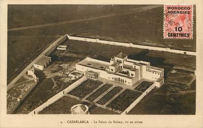 """CPA MAROC """"Casablanca, le Palais du Sultan"""""""