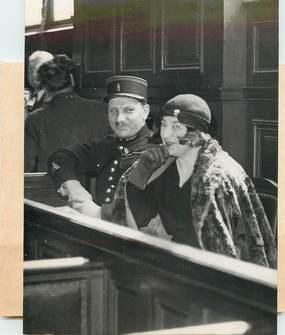 """PHOTO ORIGINALE / FRANCE 75 """"Paris, le Procès des Espions de la Bande Lydia Stahl, 1935"""""""