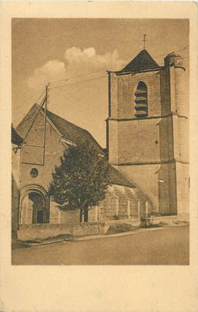 """.CPA  FRANCE 89 """"Lucy sur Yonne, L'église  """""""