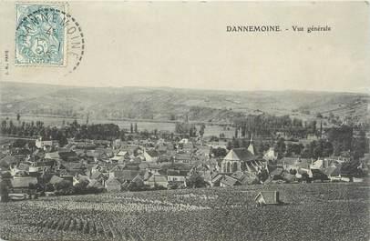 """.CPA  FRANCE 89 """"Dannemoine, Vue générale"""""""