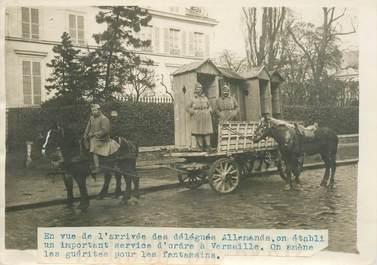 """PHOTO ORIGINALE / FRANCE 78 """"Versailles, les guérites pour les fantassins"""""""