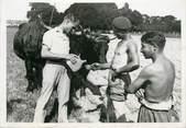 """France  PHOTO ORIGINALE / FRANCE 78 """"A la Ferme école de Bailly, 1942"""""""
