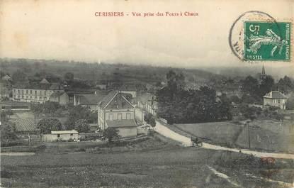 """.CPA  FRANCE 89 """"Cerisiers, Vue prise des fours à chaux"""""""