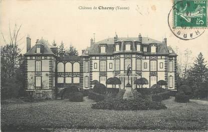 ".CPA  FRANCE 89 ""Charny, Le château"""