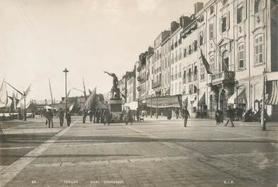 """PHOTO ORIGINALE / FRANCE 83 """"Toulon, le quai Cronstadt"""""""