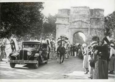 """PHOTO ORIGINALE / FRANCE 84 """"Orange, 1933, Fêtes à la mémoire de Guillaume le Taciturne"""""""