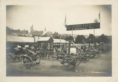 """PHOTO ORIGINALE / FRANCE 88 """"Martinville, ,Charrues Maison Jannel Frères"""""""