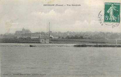 """.CPA  FRANCE 89 """"Courlon, Vue générale"""""""