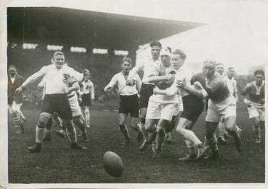"PHOTO ORIGINALE  / FRANCE 92 ""Colombes, matchde Rugby, 1928"""
