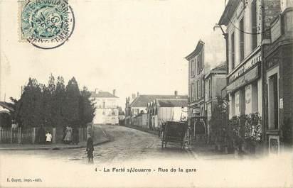 """CPA FRANCE 77  """"La Ferté sous Jouarre, Rue de La Gare"""""""