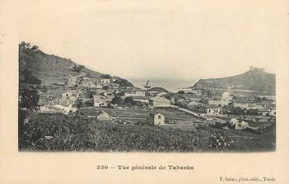 """CPA TUNISIE """"Tabarka, vue générale"""""""