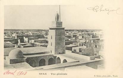 """CPA TUNISIE """"Sfax, vue générale """""""