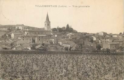 """.CPA FRANCE 42 """"Villemontagne, Vue générale"""""""