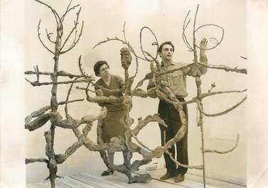 "PHOTO ORIGINALE / THEME ART ""Musée d'Art Moderne de Paris, oeuvre de Carlisky, 1962"""