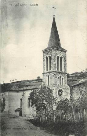 """.CPA FRANCE 42 """"Juré, L'église"""""""
