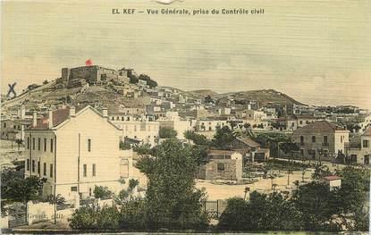 """CPA TUNISIE """"El Kef, vue générale """""""