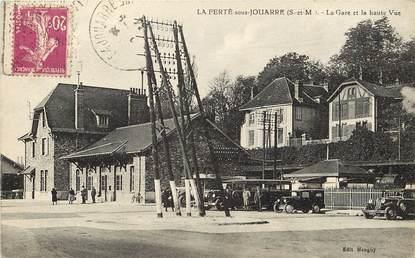 """CPA FRANCE 77  """"La Ferté sous Jouarre, La Gare"""""""