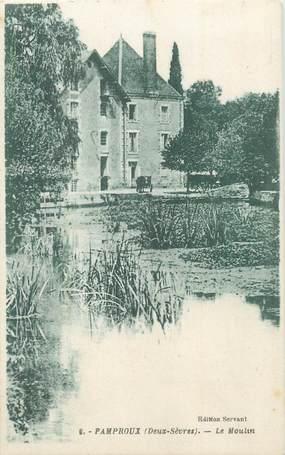 ".CPA  FRANCE 79 ""Pamproux, Le moulin"""