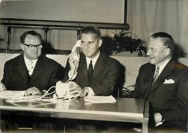 """PHOTO ORIGINALE / THEME """"Inauguration du premier cable téléphonique transatlantique"""""""
