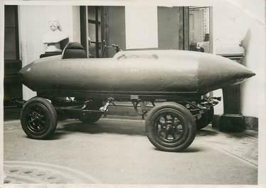 """PHOTO ORIGINALE / THEME """"La première voiture automobile qui dépassa le 100 à l'heure à Compiègne"""""""
