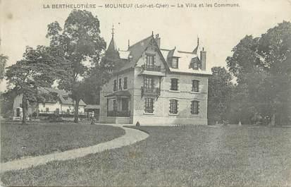 """. CPA  FRANCE 41 """" La Bertholière - Molineuf, La villa et les communs"""""""