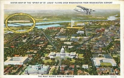 "CPA USA ""Washington, flying """